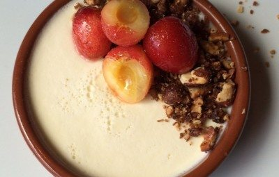 Real food traveler desserts recipe archives real food traveler burrata panna cotta with nut crumble and orondo rubies recipe forumfinder Choice Image