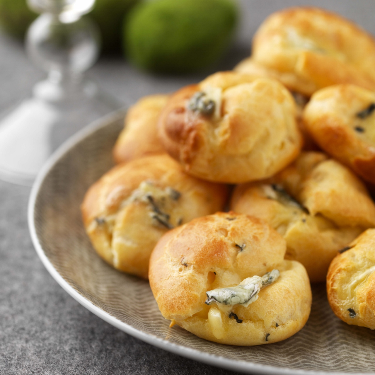 Real food traveler blue cheese goug res recipe real food - French cuisine definition ...