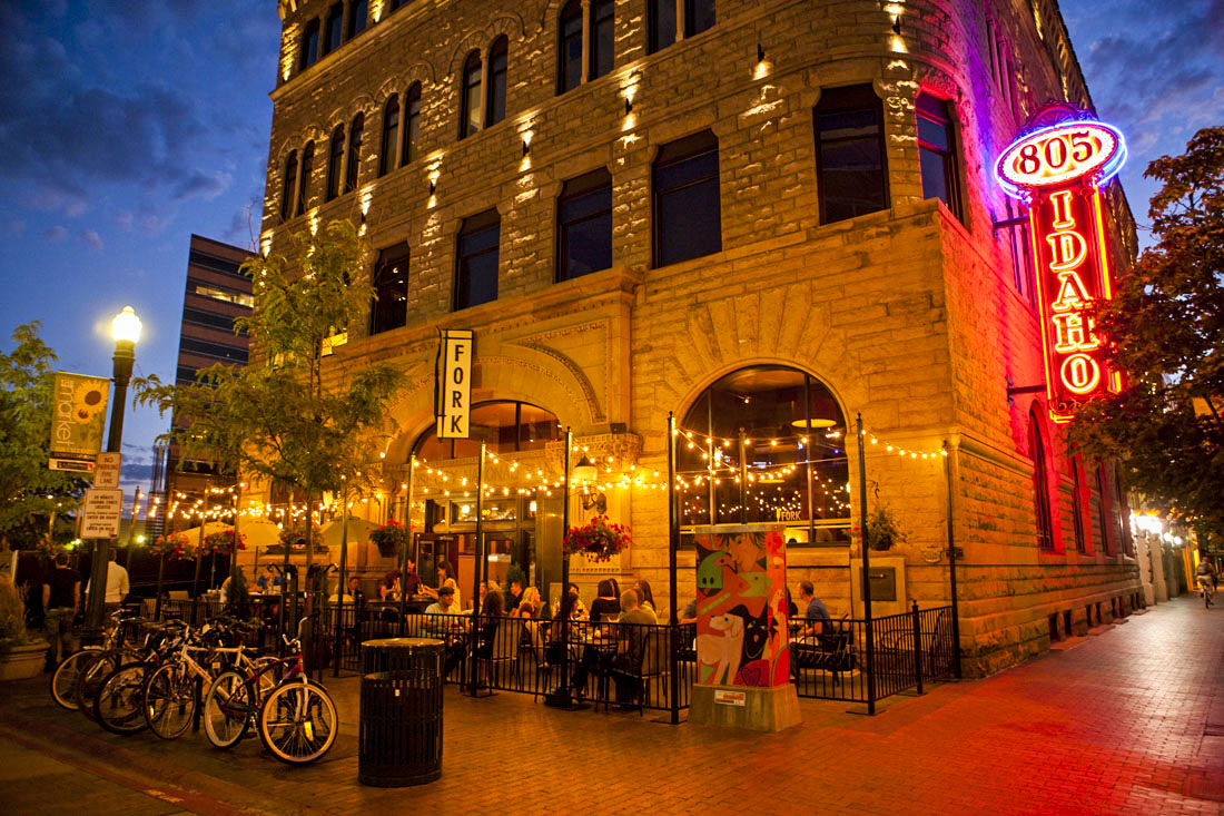 Dining Out Downtown Boise