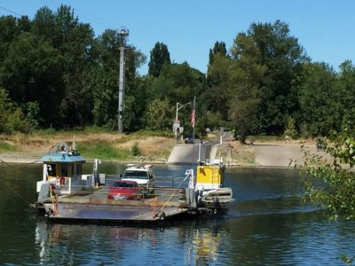 Take the fun little Wheatland Ferry to Arcane Cellars. & Real Food Traveler Oregonu0027s Arcane Cellars: Stay Awhile at this ...